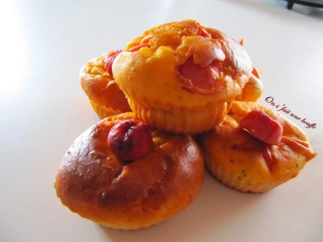 Hot Dog Muffins